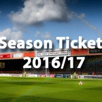 Season ticket prices for the 2016/17 campaign have been frozen. Full details here https://t.co/vo7ExRfTiv https://t.co/SD9lnWCJIw