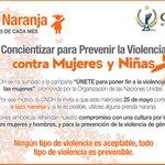 ¡HOY es #DíaNaranja, una conmemoración de @ONU_es para prevenir la #ViolenciaDeGénero! #Únete @DeniseDresserG https://t.co/6QqMNDvVN6
