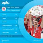 1 - @lewy_official (@FCBayern) is the opta player of the 2015/16 Bundesliga season. Congrats. https://t.co/8KhjYar6Vn