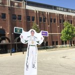 Head to Hinkle Fieldhouse. Tweet your pic w #FlatEd - 1st 5 win a pair of #Indy500 tickets or swag! #RoyalPurple https://t.co/AOgVYicZNt