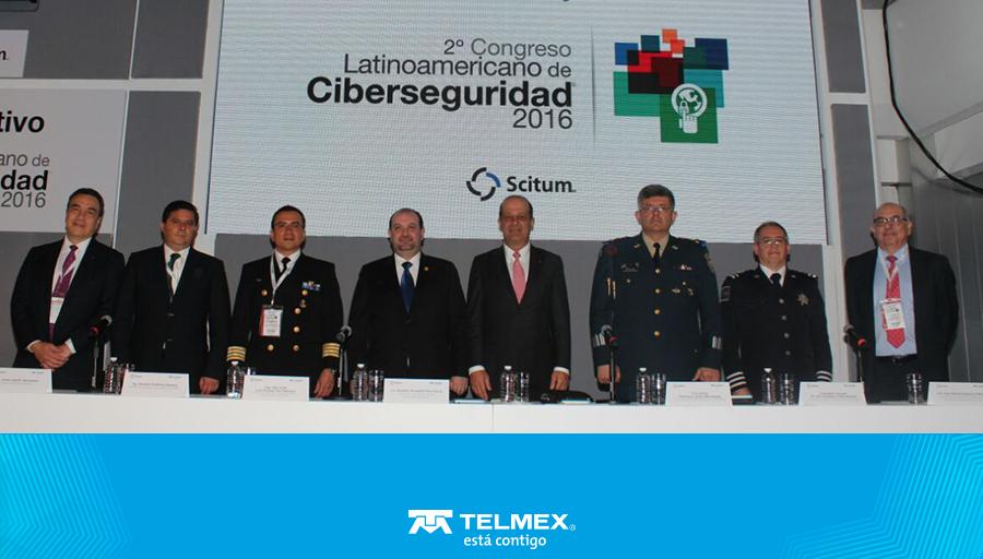 #Telmex da la bienvenida al 2° Congreso de #Ciberseguridad, una iniciativa para protección de datos. https://t.co/K2wI75CzAa