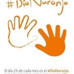 Hoy es #DiaNaranja Campaña de Lucha por la No Violencia Contra Mujeres y Niñas. https://t.co/qn1DC24Ayl