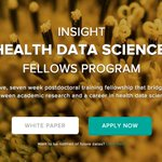 Insight Health Data Science expands to Silicon Valley - applications now open for September https://t.co/Co5rFiOhRg https://t.co/PChGJvKk7y