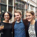 Wisseling vd wacht bij #m25denhaag nu @mariadekruijf vertrekt. Veel dank!  Robin de Jong & @shirleni86 gaan door. https://t.co/0epxKZpDE2