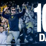 You know that nervous energy that you get right before kickoff? Well we already got it 💯 days out 🙃 @WVUfootball https://t.co/5iupUXEX4e