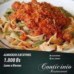 Esto si es comida de verdad????Restaurante Conticinio Mix???? Ven y disfruta de la mejor gastronomía de #Maracaibo https://t.co/N1eFxo89Je