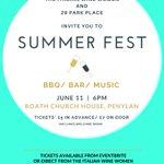 11/06: Summer Fest @ Roath Church House #cardiff BBQ/music/bar £5 advance/£7 Eventbrite/tweet/FB/email for tickets https://t.co/eEjoe0MuWQ