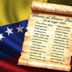 """Un 25 mayo de 1881 es decretado el """"GLORIA AL BRAVO PUEBLO"""" como Himno Nacional de nuestra Venezuela https://t.co/pe5SqdOmIx"""