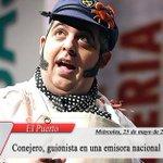 #ElPuerto Juanito Conejero, de nuevo, guionista en una emisora nacional https://t.co/G8sH9UJWLs https://t.co/1Qskf8e6lT