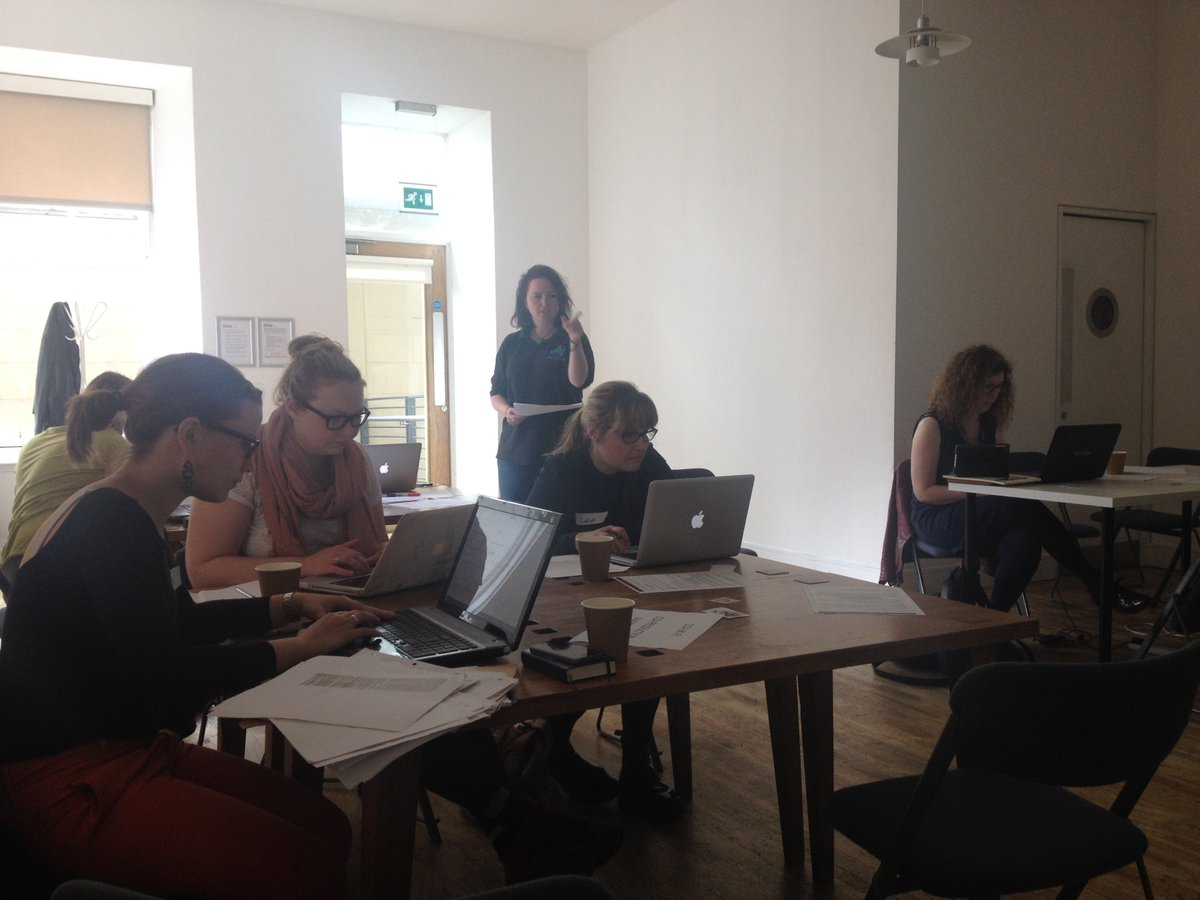 Intense concentration at our #Stillinvisible @artandfeminism editathon