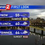Good morning! Mostly cloudy weather on the way today, cooler than yesterday w/ patchy drizzle. See you #LiveOnK2 https://t.co/2mqwC5evOC