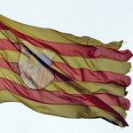Así lucía la bandera de Aragón en la plaza del mismo nombre cuando la pusieron hace dos años, y así luce ahora... https://t.co/VLN6mckpq0