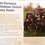 Bethlehem United featured in Spring issue of InQ magazine. Thanks for support @ArtsQuest @SteelStacks #TogetherAsOne https://t.co/4z6YEwZVmx