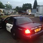 Police still have a mobile home cordoned off in North Portland after a late night shooting #LiveOnK2 https://t.co/O6nLbMGghM