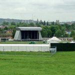 Stage is up in South Park for @CommonPeopleOX this weekend!!! @OxfordMailLive #southpark https://t.co/Bz536krzao