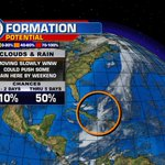 Because this area is getting better organized, the NHC has sent another outlook. Medium chances.. @wsvn https://t.co/09sl5VaR37