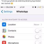 thank u everyone fr sharing. i can on my whatsapp back! sharing is caring ☝????️ https://t.co/wgeuNbOkIp