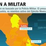 #PrimeroNoticias Autoridades de Coahuila buscan al militar Cosme Gaspar N, acusado de violar a 2 niñas en Saltillo https://t.co/UvgITG14vY
