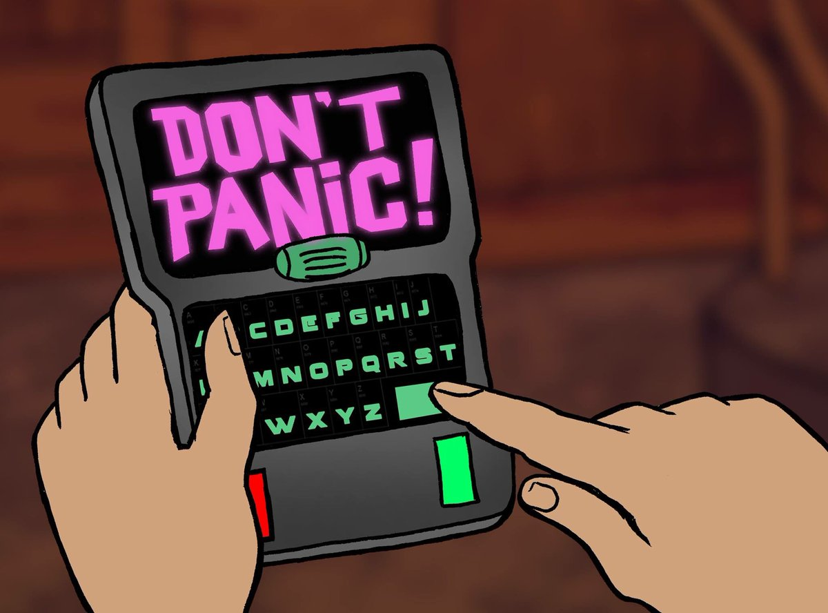 Don't panic! Happy Towel day! #TowelDay #towelDay2016 https://t.co/8qDgMNXHtC