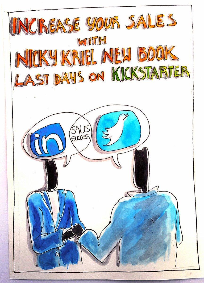 Last few days! Crowdfunding for new #socialselling for #smallbiz  book https://t.co/w0gVfEftca https://t.co/wKilMKjQb1