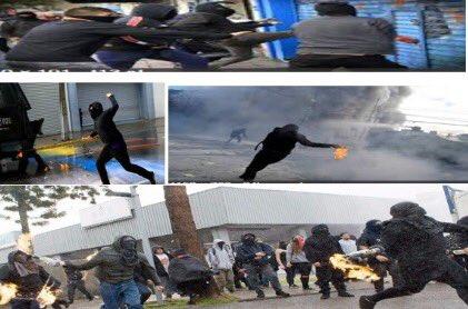 Según directora del INDH los manifestantes se encapuchan para protegerse de las bombas lacrimógenas. Juzgue usted https://t.co/mM6aL9mz08