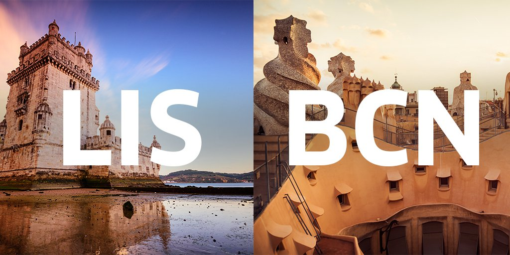 Dreaming vinho verde and Picasso? Hop on our seasonal route from DC to Lisbon or Barcelona.