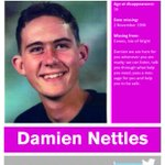 Damien was 16 when he went missing in 1996 on the #IsleofWight https://t.co/nYVeOZsgrF  #FindEveryChild #ThanksICAP https://t.co/4X4tLTMNSY
