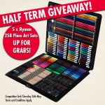 RT to #WIN a 258 piece Art Set in time for #HalfTerm! Be quick, this competition ends tomorrow! #winitwednesday https://t.co/AFO6Tb7KYW