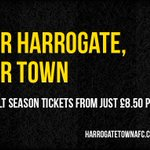 Our #Harrogate. Our Town. Join us for an action packed season at The CNG Stadium. https://t.co/5JjfMwshyc https://t.co/z8ttDzlvmS