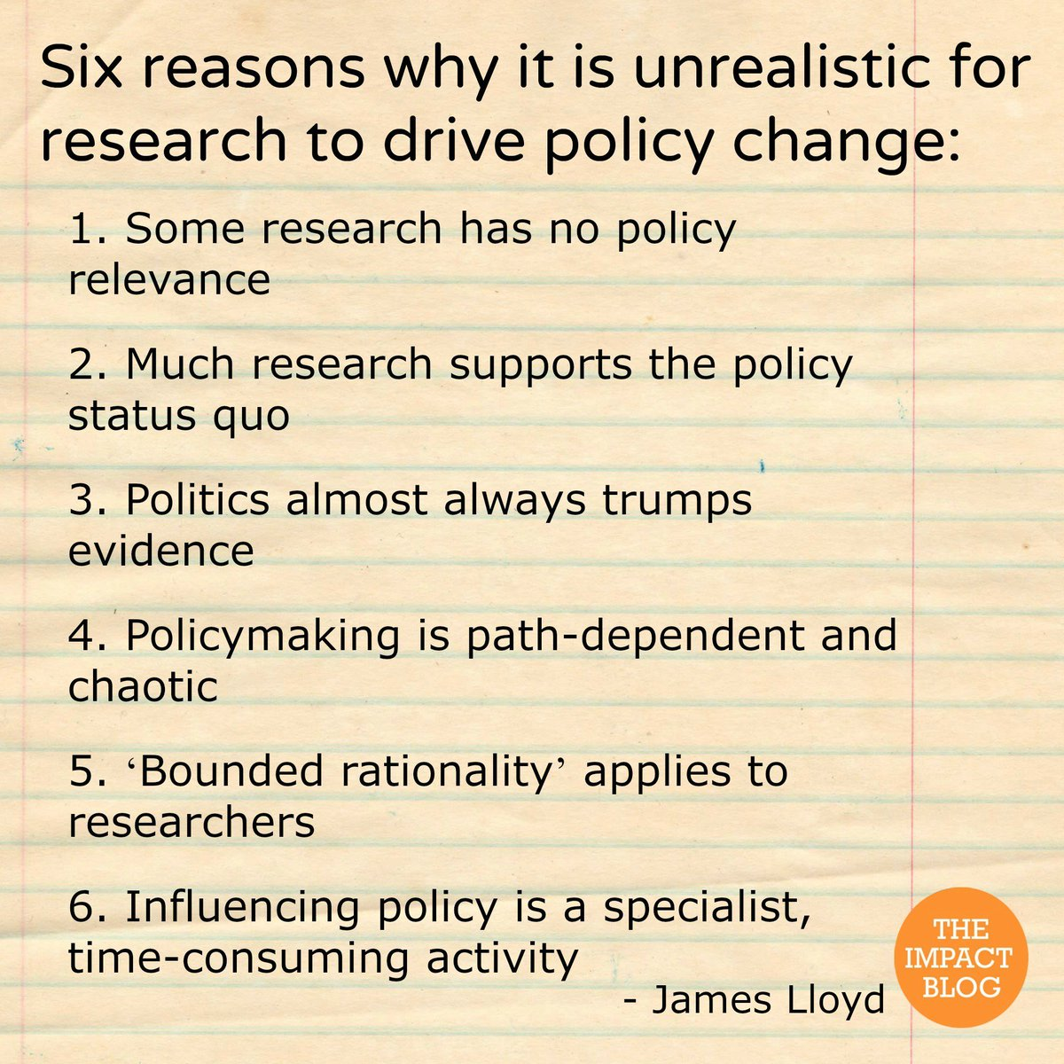 Should academics be expected to change policy? Today's post by @_james_lloyd https://t.co/LO72sTGAia https://t.co/92sNl26UEv