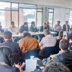 """Inicia rueda de Prensa """"Denuncia sobre venta ETB"""" de la Gran Coalición por la Defensa de lo Público y la ETB. https://t.co/yNpizP2RUU"""