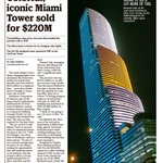 "Iconic #Miami ""Vice"" Tower sold for $220M as downtown #CRE market booms https://t.co/8UH2RsyZrZ @MiamiHerald https://t.co/2DmHT0tkte"