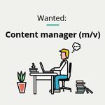 Versterking gezocht! Ben jij of ken je onze nieuwe #content #manager? #job #Gent https://t.co/d2RwmjOgQr https://t.co/4Pvd4aYprj