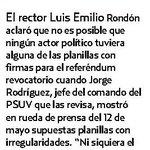 Luís Emilio Rondón,Rector del CNE denuncia que afirmaciones oficialistas sobre defectos en las firmas son falsedades https://t.co/3UZM2qwpCi