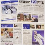 Inside todays @TheSpec - #HamOnts Eleanor Harvey heads to #OlympicGames, & a miniature model world of #HamOnt https://t.co/IsoPrVcqDn