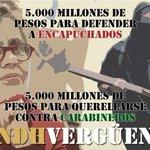 El #INDH tiene $ 5 mil millones para defender a encapuchados. Hay q preguntarse sí aporta sustancialmente al país. https://t.co/EVMHQftCAI