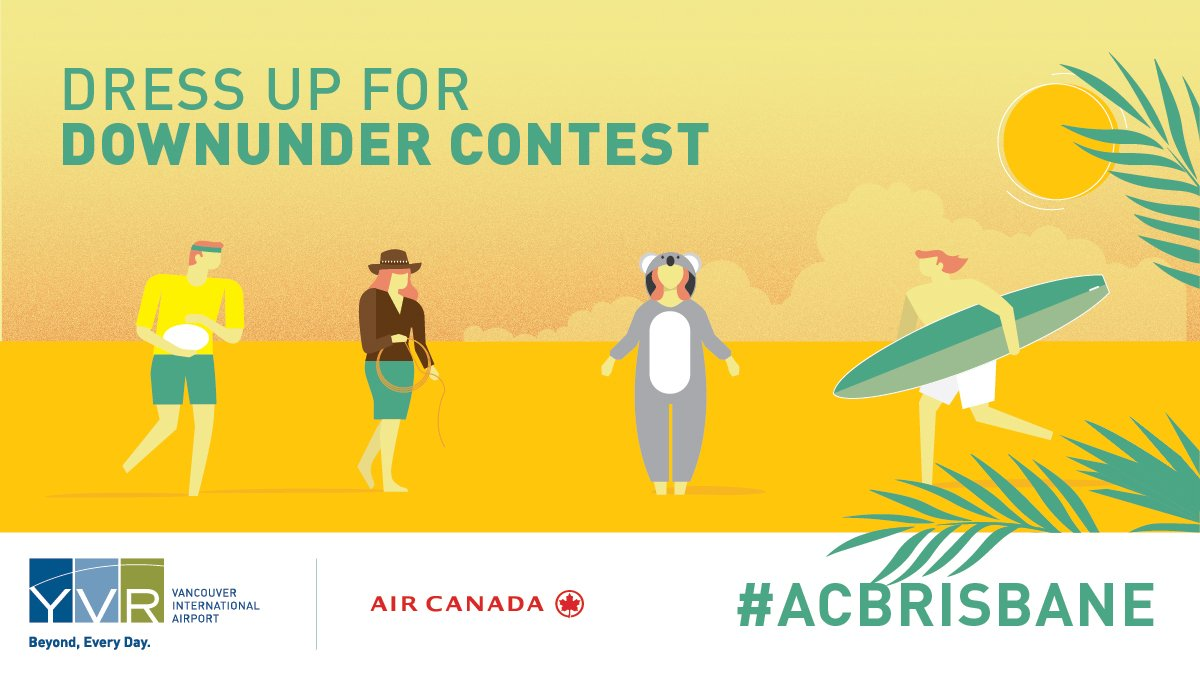 Dress up for Downunder - win 2 free flights to Brisbane just by dressing up as an Aussie!