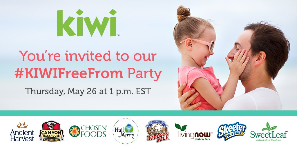 Join us 1pm EST tomorrow for our #KIWIFreeFrom Twitter party! Learn more info & win prizes! Retweet to RSVP https://t.co/y3ZEZi00gz