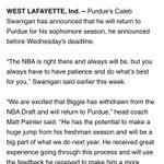 Biggie staying at Purdue: https://t.co/tsDGvMiOnl