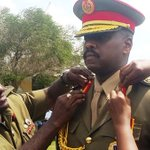 First Son Muhoozi Kainerugaba has been officially decorated a two star General. https://t.co/1YVF82rF1u