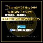 """""""True Love doesnt mean inseparable but being separated & nothing changes""""  Happy Weeksary!  🐼OHT #ALDUB45thWeeksary https://t.co/EOb9IwWUrQ"""