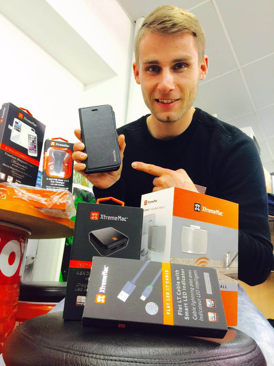 Welcome in our team @JulesCluzel16 ! Enjoy all your new #XtremeMac products! Follow him! https://t.co/2RYU8lGkH6