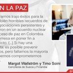 """#AsiVenLaPaz """"Proceso de paz en Colombia muestra gran promesa en poner fin a décadas de conflicto"""": @margotwallstrom https://t.co/iiQIqGWS1H"""