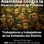 Convocan reunión por la dignidad laboral en Bogotá este viernes: https://t.co/yOJoR3VFCt