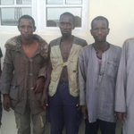 PHOTONEWS: @PoliceNG handout photo of Fulani Herdsmen arrested over Nimbo community killings in Enugu https://t.co/lrZzGbtJSN