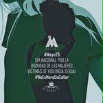 #Mayo25 Día nacional por la dignidad de las mujeres víctimas de violencia sexual #NoEsHoraDeCallar https://t.co/NEEXjWSWxu