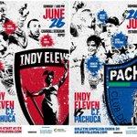 OFFICIAL: Indy Eleven vs. Liga MX finalists @Tuzos on June 26 at 1 P.M. EST! More at https://t.co/afU7XZAGgV soon: https://t.co/OjnbgGDS40
