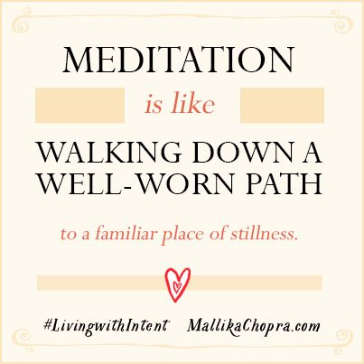 The more regular I am w/ my meditation practice, the more anchored & happy & connected I feel. #livingwithintent https://t.co/aWu0O3xgsu