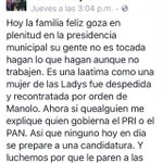 #Saltillo PANISTAS destacados arremeten contra su Alcalde Panista ISIDRO #EnIsidroNoConfio @mmsoriano https://t.co/a6rJ6lY7VT
