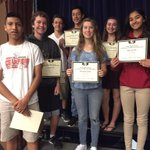 9th grade awards assembly celebrating academic success in Physical Education! https://t.co/6fbZkpDZWo